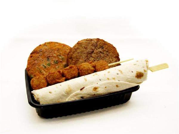 Barbecuepakket vegetarisch compleet